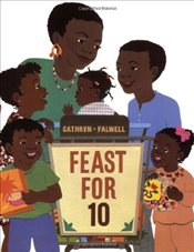 Feast for 10 [With CD] (Read-Along) - Cathryn, Falwell