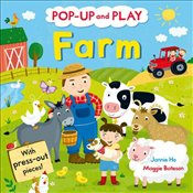 Pop-up and Play Farm: A pop-up gift book! - Bateson, Maggie