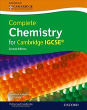 Complete Chemistry for Cambridge IGCSE with CD-ROM 2e - Ingram, Paul