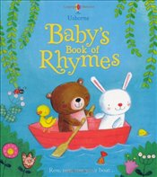 Babys Book of Rhymes (Usborne Tabbed Board Books) - Brooks, Felicity