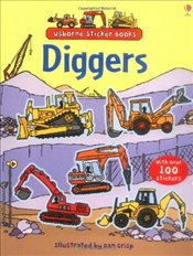 Diggers Sticker Book - Pearcey, Alice