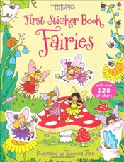 First Sticker Book: Fairies (First Sticker Books) (Usborne First Sticker Books) - Greenwell, Jessica