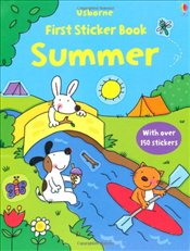 First Sticker Book: Summer (Usborne First Sticker Books) - Greenwell, Jessica