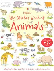 Big Sticker Book of Animals (Usborne First Sticker Books) - Greenwell, Jessica