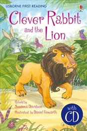 Clever Rabbit and the Lion + CD - English Learners edition - Elementary (150 - 250 words) - Davidson, Susanna