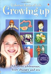Usborne Facts of Life, Growing Up (All about Adolescence, body changes and sex) - Meredith, Susan