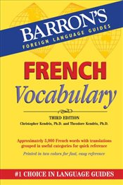 French Vocabulary  - Kendris, Christopher