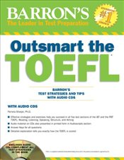 Outsmart the TOEFL : Barrons Test Strategies and Tips with Audio CDs - Sharpe, Pamela