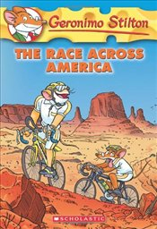 Race Across America (Geronimo Stilton #37)  - Stilton, Geronimo