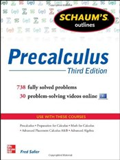 Schaums Outline of Precalculus 3e - Safier, Fred