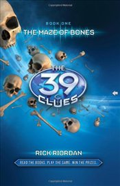 Maze of Bones: The 39 Clues - Riordan, Rick