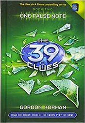 One False Note: The 39 Clues Book 2 - Korman, Gordon
