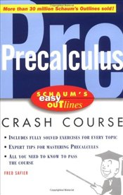 Schaums Easy Outline of Precalculus - Safier, Fred