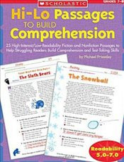 Hi-Lo Passages to Build Reading Comprehension : 25 High-Interest/Low Readability Fiction and Nonfict - Priestley, Michael