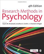 Research Methods in Psychology 4e - Breakwell, Glynis M.