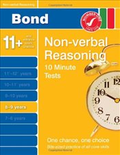 Bond 10 Minute Tests Non-verbal Reasoning 8-9 years - Primrose, Alison
