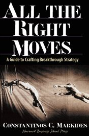 All the Right Moves : A Guide to Crafting Breakthrough Strategy - Markides, Constantinos C