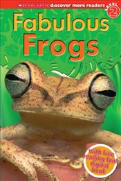 Scholastic Discover More Reader Level 2 : Fabulous Frogs - Arlon, Penelope