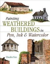 Painting Weathered Buildings in Pen, Ink and Watercolour - Nice, Claudia