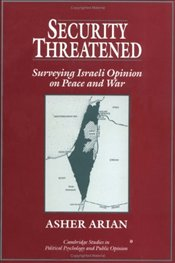 SECURITY THREATENED : Surveying Israeli Opinion on Peace and War  - ARIAN,
