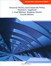 Financial Theory and Corporate Policy 4e NPIE - COPELAND, THOMAS E.