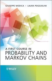 First Course in Probability and Markov Chains - Modica, Giuseppe