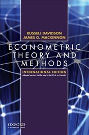Econometric Theory and Methods - Davidson, Russell