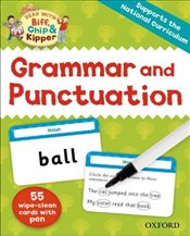 Oxford Reading Tree Read with Biff, Chip and Kipper : Grammar and Punctuation Flashcards - Hunt, Roderick