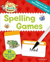 Oxford Reading Tree Read with Biff, Chip and Kipper : Spelling Games Flashcards  - Hunt, Roderick