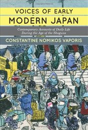 Voices of Early Modern Japan - Vaporis, Constantine N