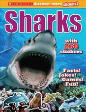 Scholastic Discover More Stickers : Sharks - Arlon, Penelope