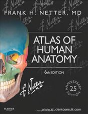 Atlas of Human Anatomy 6e : Including StudentConsult Interactive Ancillaries and Guides - Netter, Frank H.