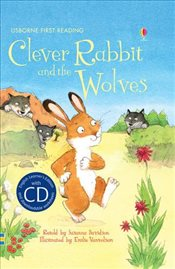 Clever Rabbit and the Wolves + CD - English Learners Editions - Elementary (150 - 250 words) - Davidson, Susanna