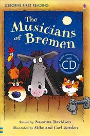 Musicians of Bremen  + CD - English Learners Editions - Lower Intermediate (450 - 650 words) - Davidson, Susanna