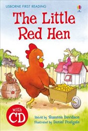 Little Red Hen  + CD - English Learners Editions - Lower Intermediate (450 - 650 words) - Davidson, Susanna