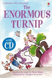 Enormous Turnip  + CD - English Learners Editions - Lower Intermediate (450 - 650 words) - Daynes, Katie