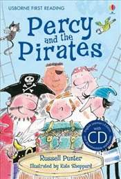 Percy and the Pirates + CD - English Learners Editions - Intermediate (600 - 900 words) - Punter, Russell