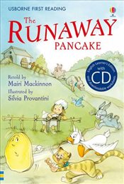 Runaway Pancake + CD - English Learners Editions - Intermediate (600 - 900 words) - Mackinnon, Mairi