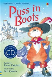 Puss in Boots  + CD - English Learners Editions - Upper Intermediate (1200 - 2000 words) - Patchett, Fiona