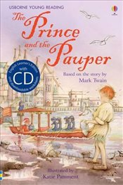 Prince and the Pauper + CD - English Learners Editions - Advanced (1500 - 2500 words) - Davidson, Susanna