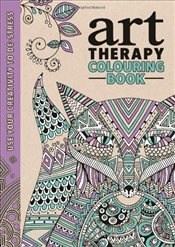 Art Therapy Colouring Book -