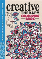 Creative Therapy Colouring Book - Davies, Hannah