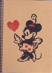 UC - Mynote Minnie Mouse Kraft Kareli Defter A4 100yp. (MINNIE1001-K) -