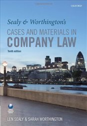 Sealy & Worthingtons Cases and Materials in Company Law - Sealy, Len
