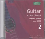 ABRSM : Complete Guitar Exam Recordings : From 2009 : Grade 2 (CD) - ABRSM,