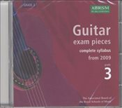 ABRSM : Complete Guitar Exam Recordings : From 2009 : Grade 3 (CD) - ABRSM,
