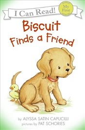 Biscuit Finds a Friend [With CD (Audio)] (I Can Read – Shared My First Reading) - Capucilli, Alyssa Satin
