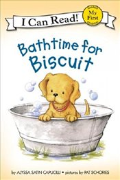 Bathtime for Biscuit Book and CD (I Can Read – Shared My First Reading) - Capucilli, Alyssa Satin