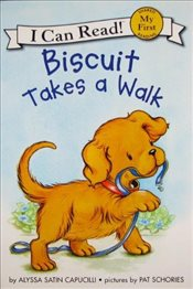 Biscuit Takes a Walk (I Can Read – Shared My First Reading) - Capucilli, Alyssa Satin