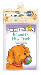 Biscuits New Trick Book and CD (I Can Read – Shared My First Reading) - Capucilli, Alyssa Satin